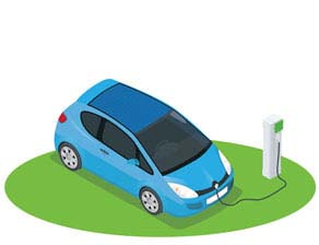 icon for electric vehicles