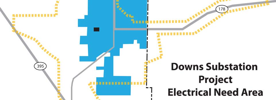 Open Downs Substation Project Map (PDF)
