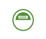 Green Meter Icon