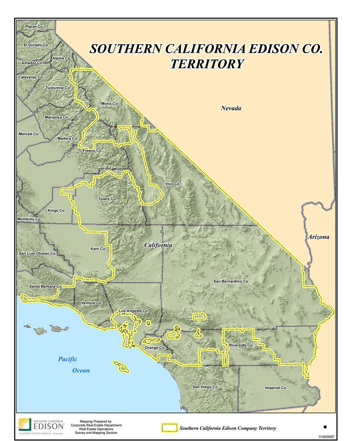 Sce Territory Map Leadership Who We Are About Us Home Sce