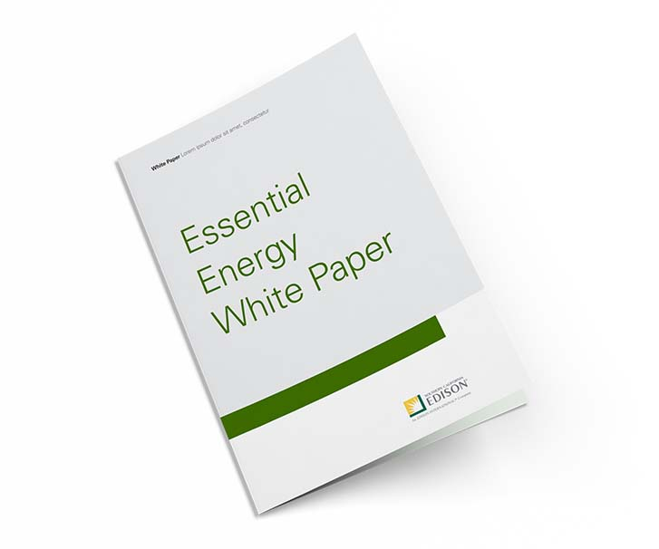 Essential Energy White Paper Cover