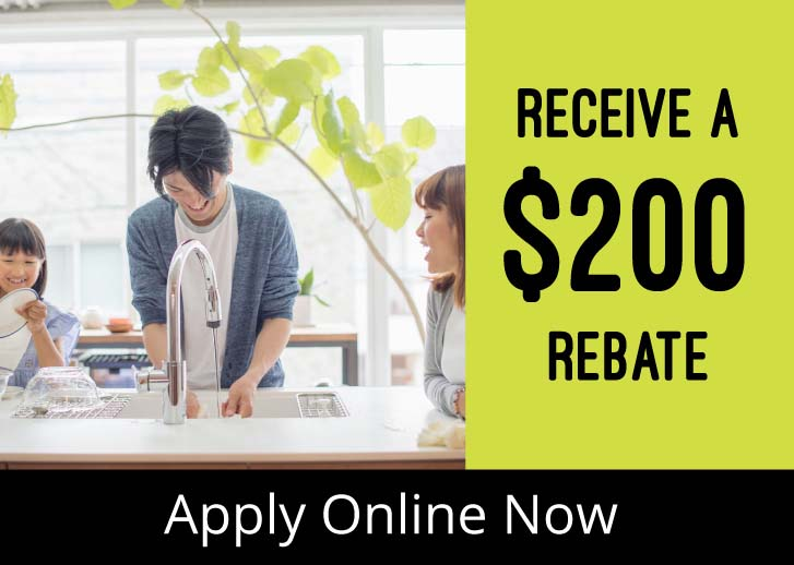 Hybrid Electric Water Heater: Receive a $200 Rebate - Apply Online Now