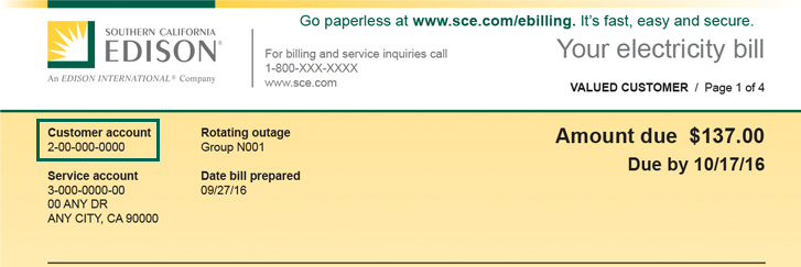 Understand Your Bill | Billing & Payment | Customer Support | Home - SCE