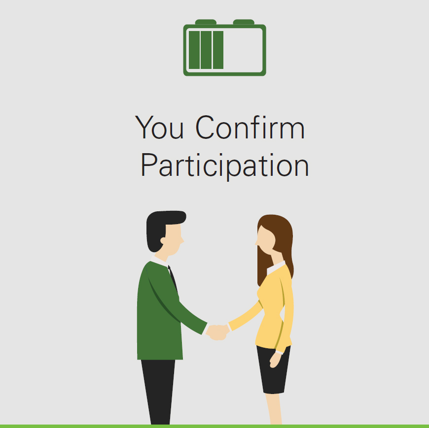 You Confirm Participation
