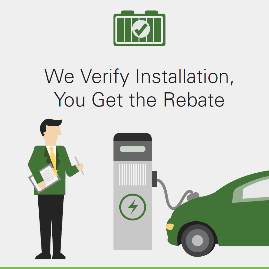 We Verify Installation, You Get the Rebate